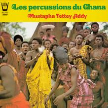 Mustapha Tettey Addy – <cite>Les Percussions du Ghana</cite> album art