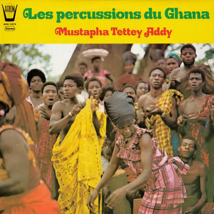 Mustapha Tettey Addy – Les Percussions du Ghana album art