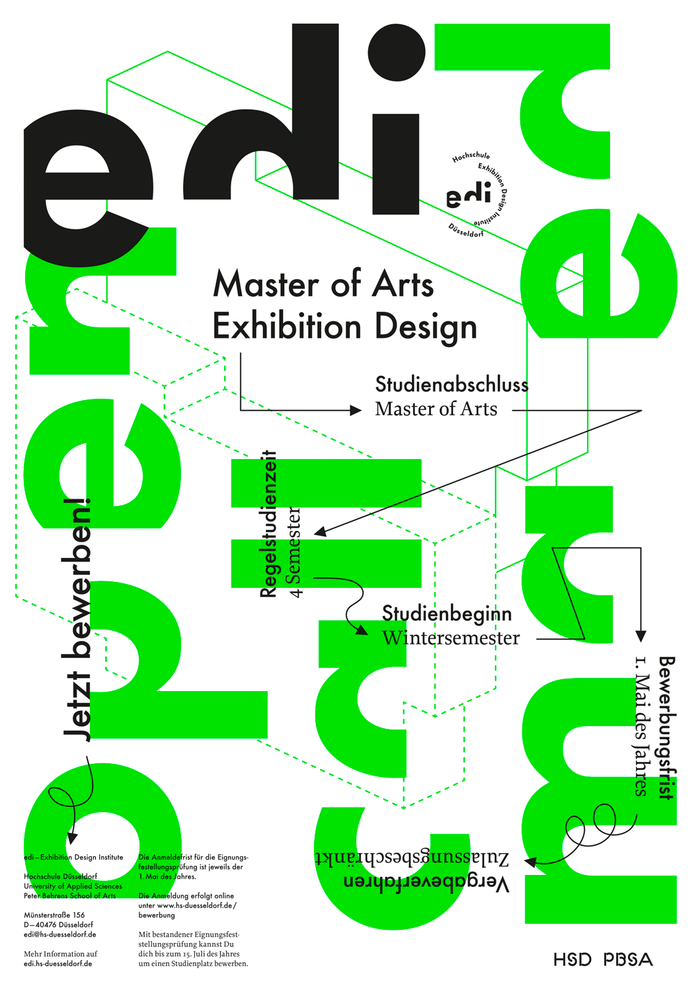 Open Call MA Exhibition Design 2