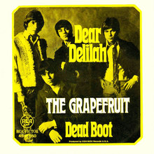 "The Grapefruit – ""Dear Delilah"" German single cover"