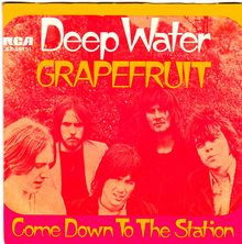 "Grapefruit – ""Deep Water"" German single cover"
