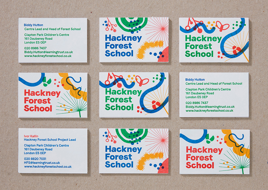 Hackney Forest School Fonts In Use
