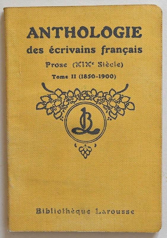 Prose (XIXe siècle), Tome II (1850–1900)