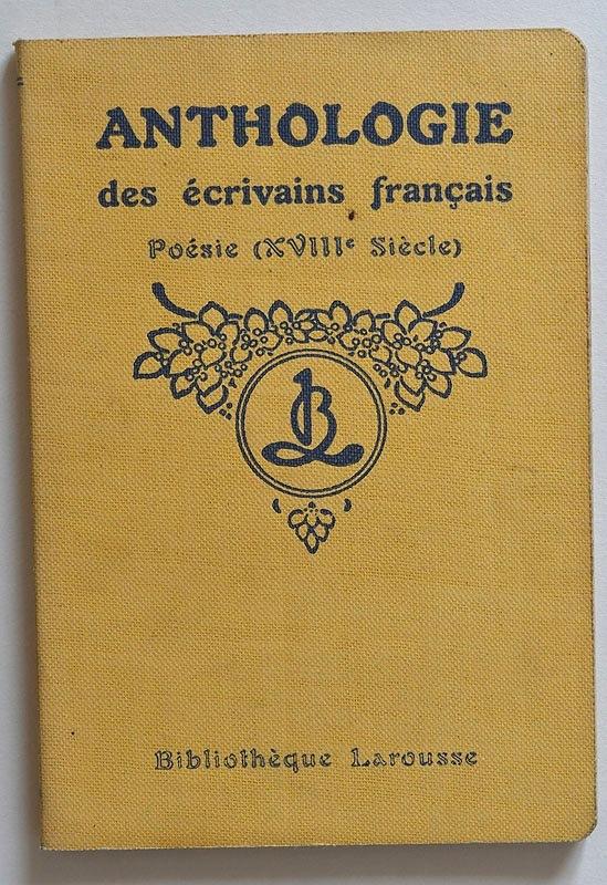 Poésie (XVIIIe Siècle)