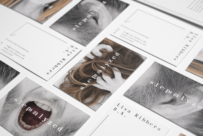 Series of business cards