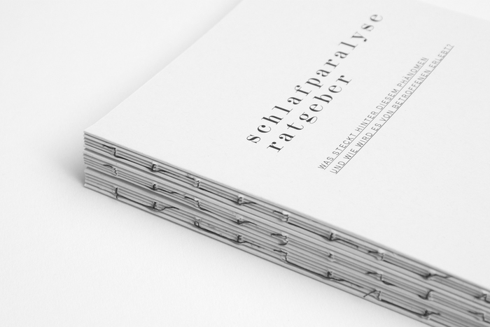 Guide spines with exposed binding