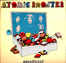 Atomic Rooster – <cite>Assortment</cite> album art