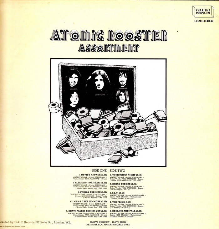 Assortment – Atomic Rooster 2