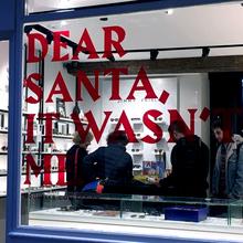 Jimmy Fairly, Christmas window display