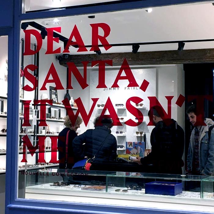 Jimmy Fairly, Christmas window display 1