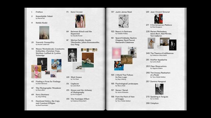 """Foam magazine #42, """"Talent"""" 4"""