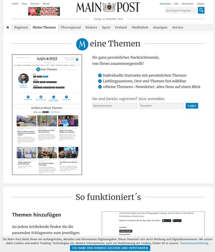 Main-Post website 7