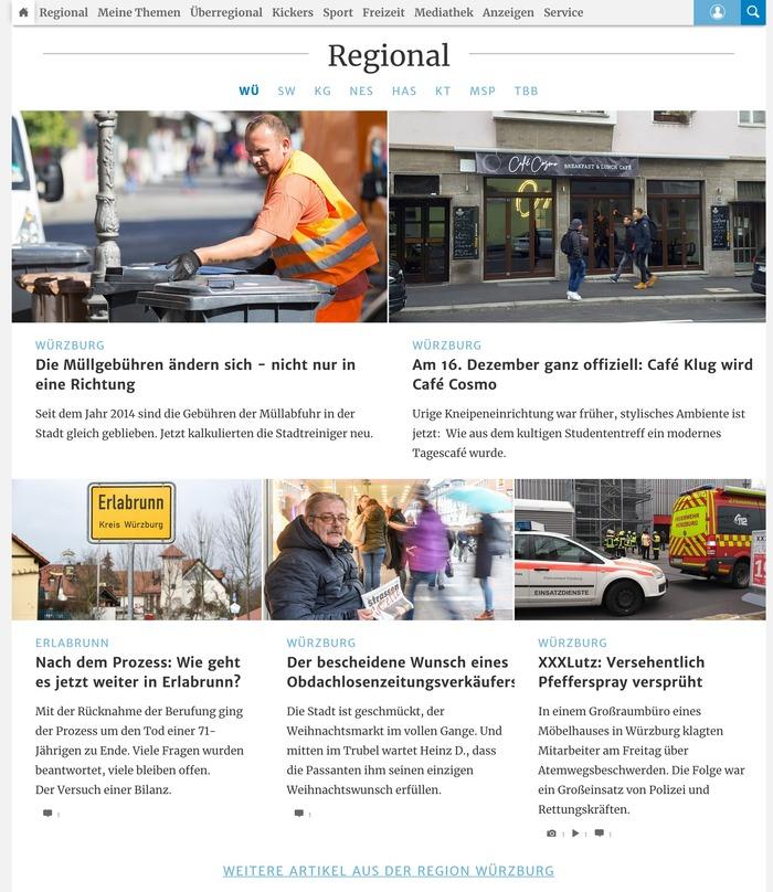 Main-Post website 2