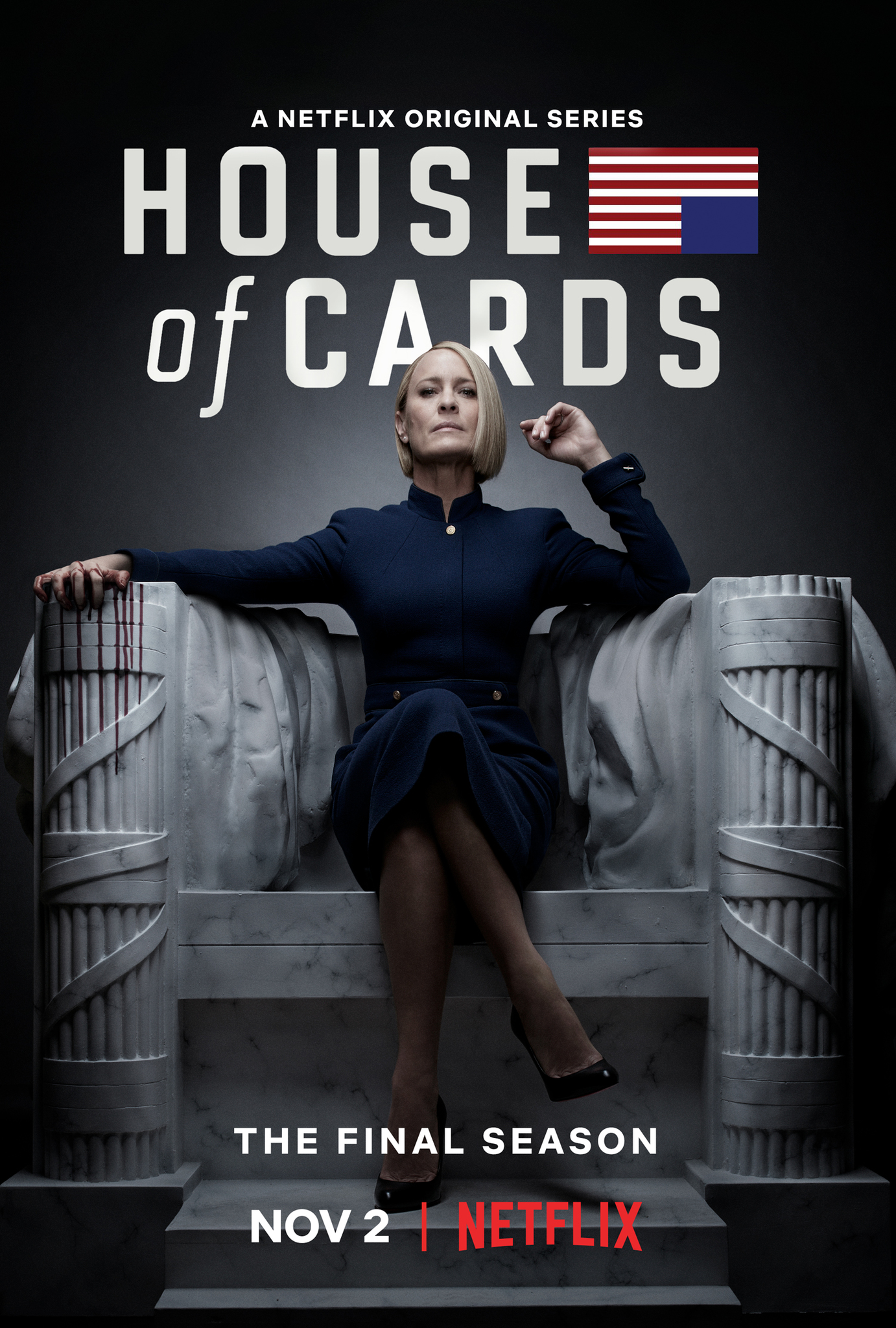 House Of Cards Netflix Series Fonts In Use