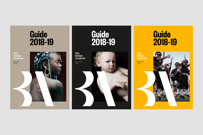The British Academy brand identity (2018) 6