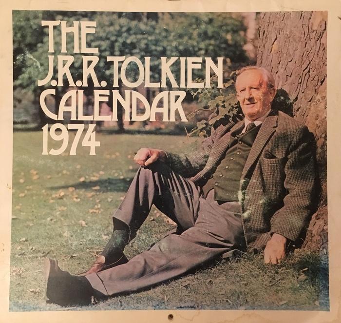 The J.R.R. Tolkien Calendar 1974 1