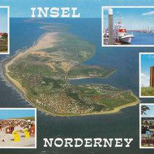Insel Norderney postcard
