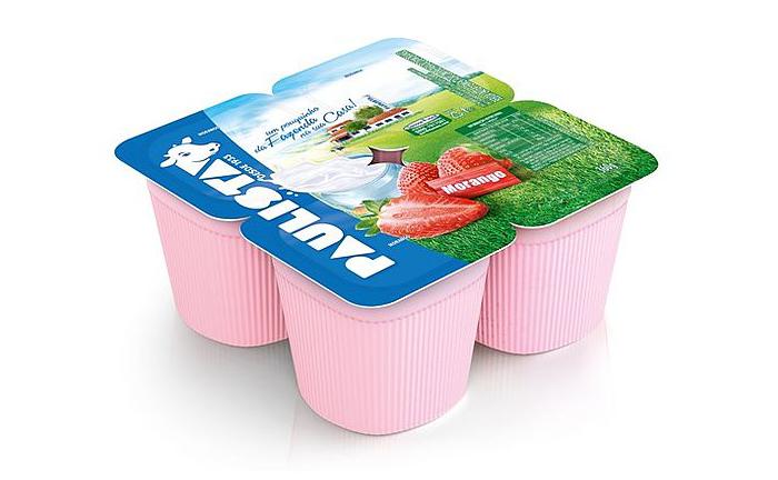 Paulista brand strawberry pulp