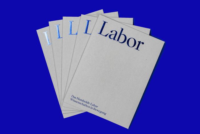 Humboldt-Labor introduction brochure 1