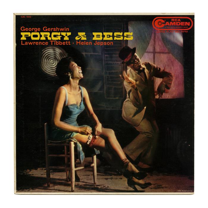 Porgy & Bess (RCA Camden Records) album art