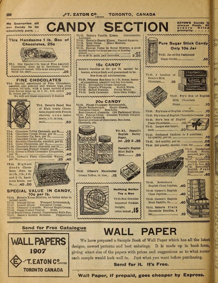 Eaton's Fall & Winter 1907 Catalogue 1