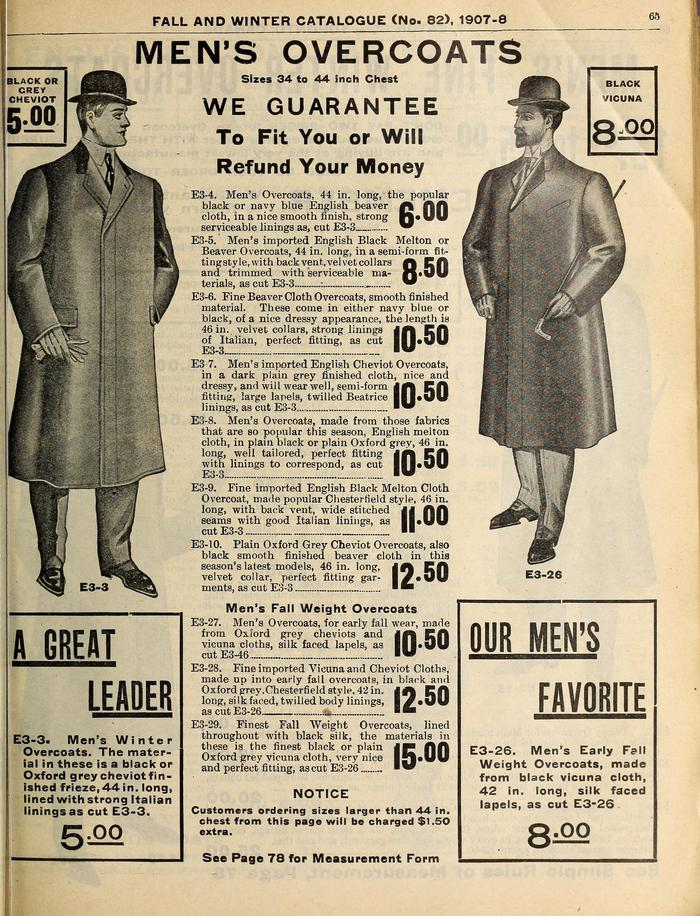 Eaton's Fall & Winter 1907 Catalogue 2