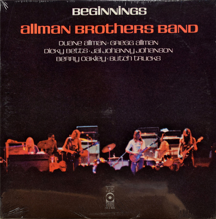 Allman Brothers Band – Beginnings album art 1