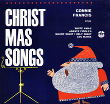 <cite>Christmas Songs</cite> – Connie Francis