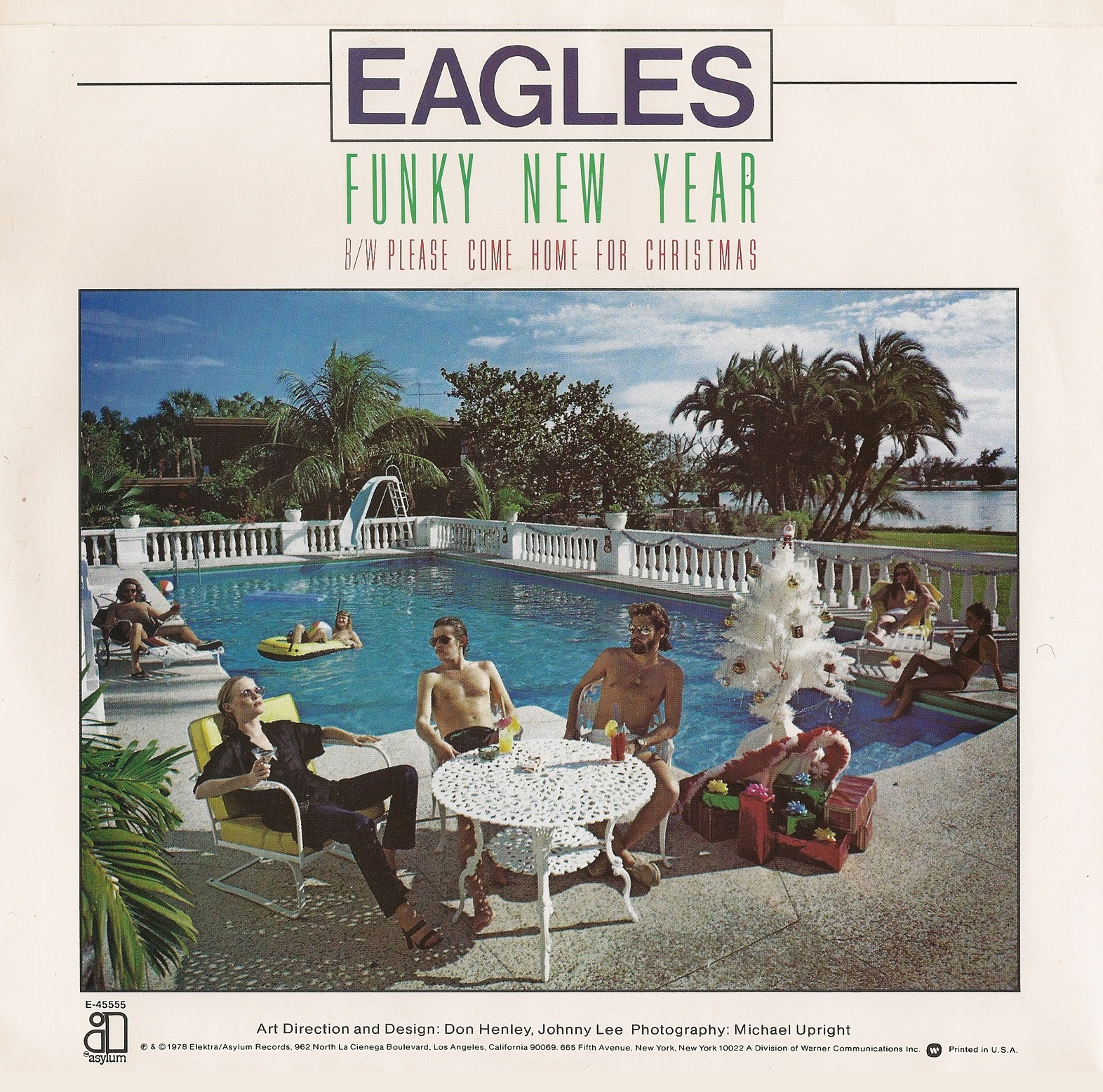 Don Henly Christmas.Please Come Home For Christmas Funky New Year Eagles