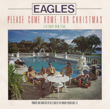 "Eagles – ""Please Come Home For Christmas"" / ""Funky New Year"" single cover"