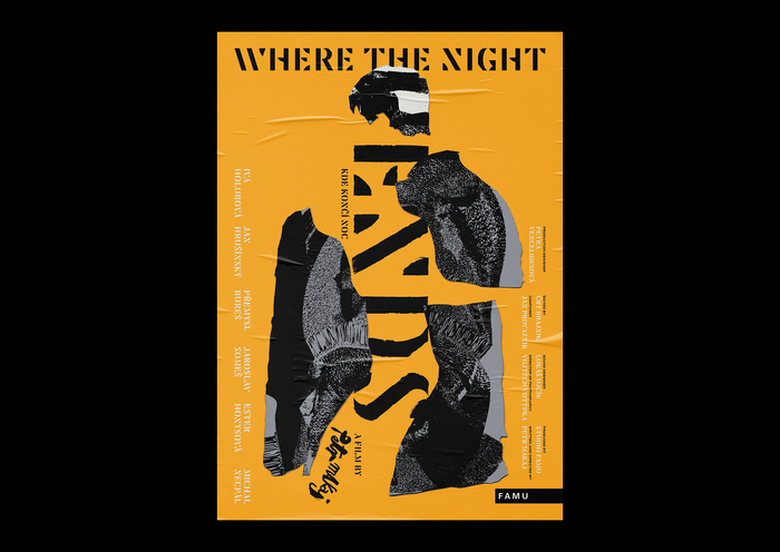 Where The Night Ends movie poster 1