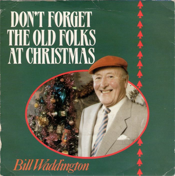 """BillWaddington – """"Don't Forget The Old Folks At Christmas"""" single cover 2"""