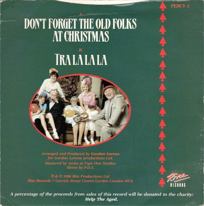 """BillWaddington – """"Don't Forget The Old Folks At Christmas"""" single cover 3"""