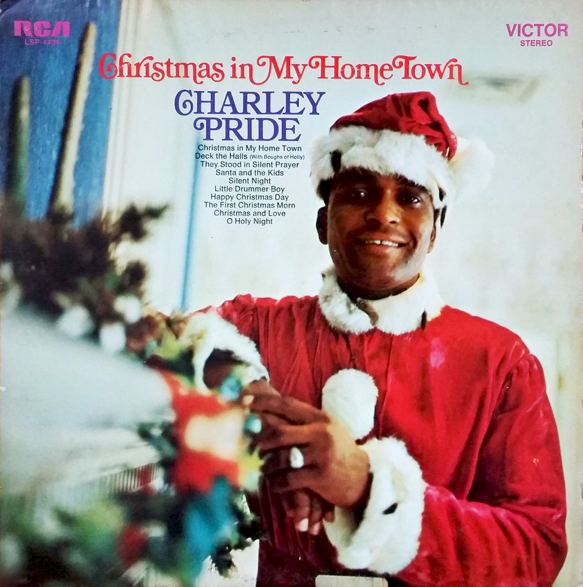 Christmas In My Home Town – Charley Pride - Fonts In Use