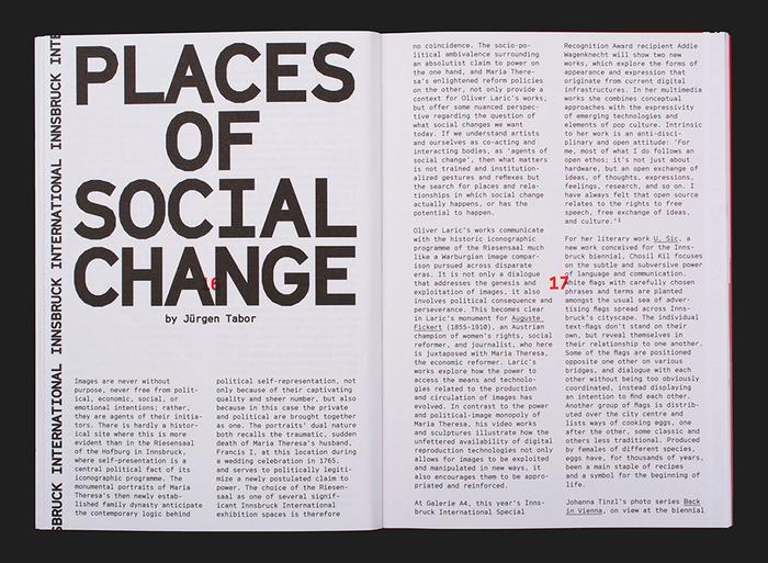 Innsbruck International, Biennial of the Arts 5