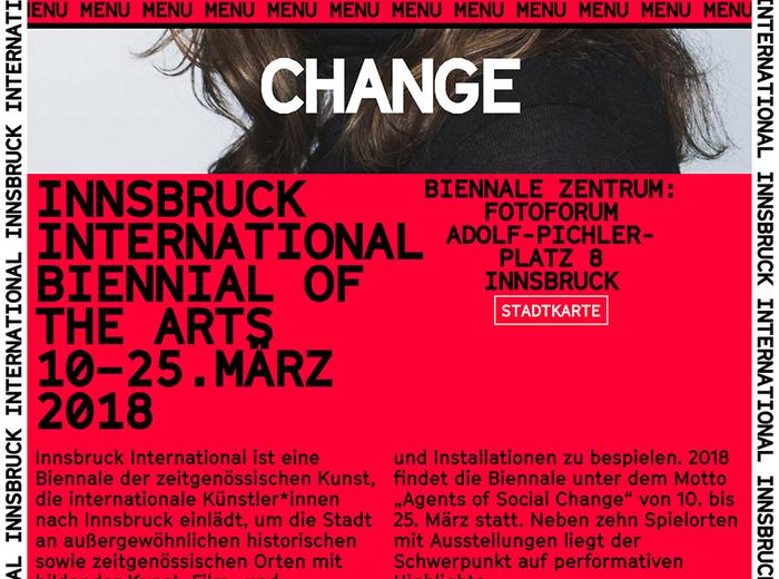 Innsbruck International, Biennial of the Arts 8