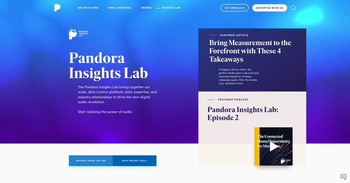 Pandora for Brands 5