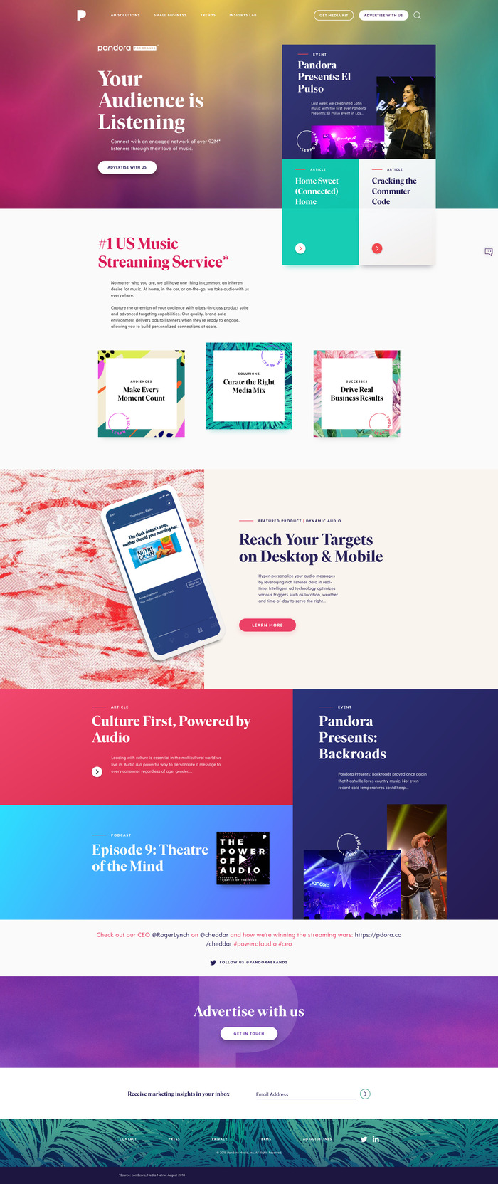 Pandora for Brands 2