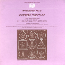 "Muttusvami Diksitar performed by  S.<span class=""nbsp""> </span>Ramanathan (Folkways Records)"
