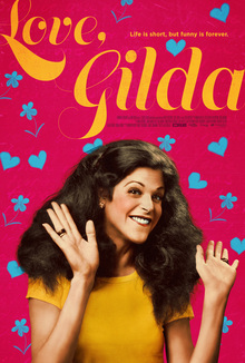 <cite>Love, Gilda</cite> (2018) movie poster