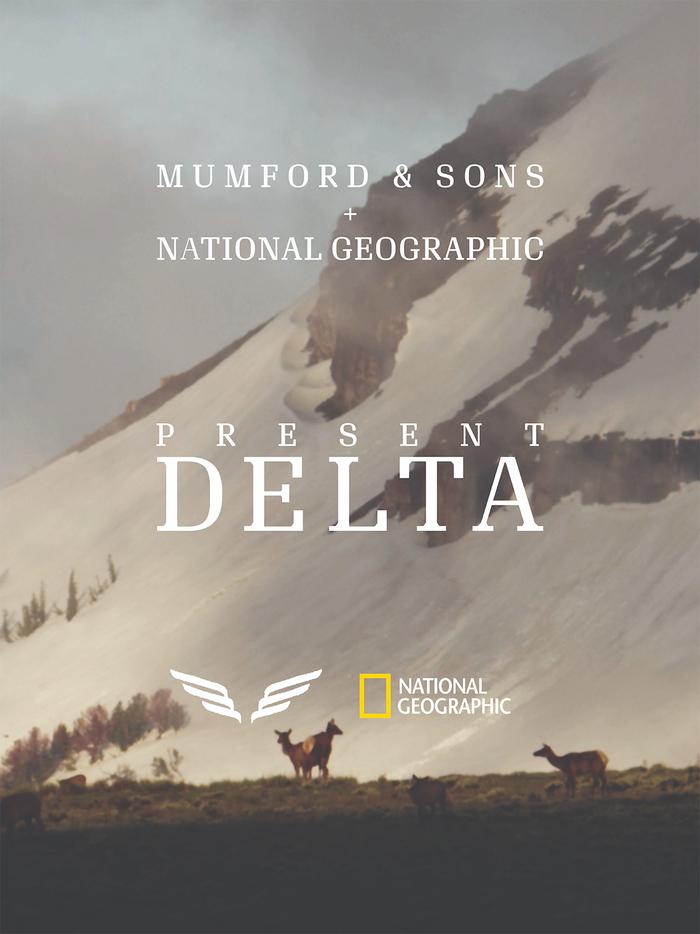 Partnership poster for Delta album.
