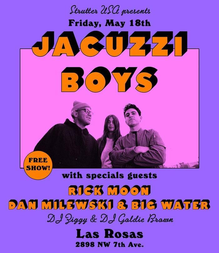 Jacuzzi Boys at Las Rosas, May 18th 2018
