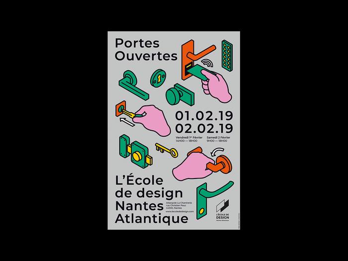Open day at L'École de Design Nantes Atlantique 1