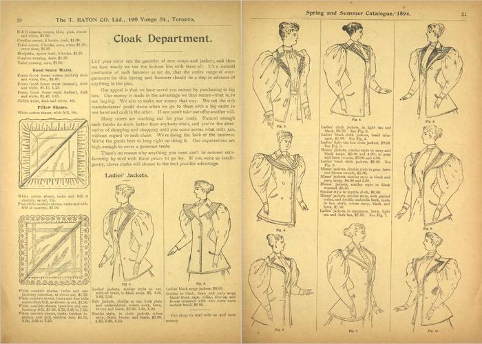 Eaton's Spring and Summer Catalogue No. 27 3