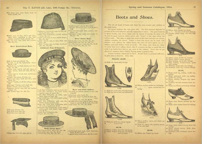 Eaton's Spring and Summer Catalogue No. 27 4