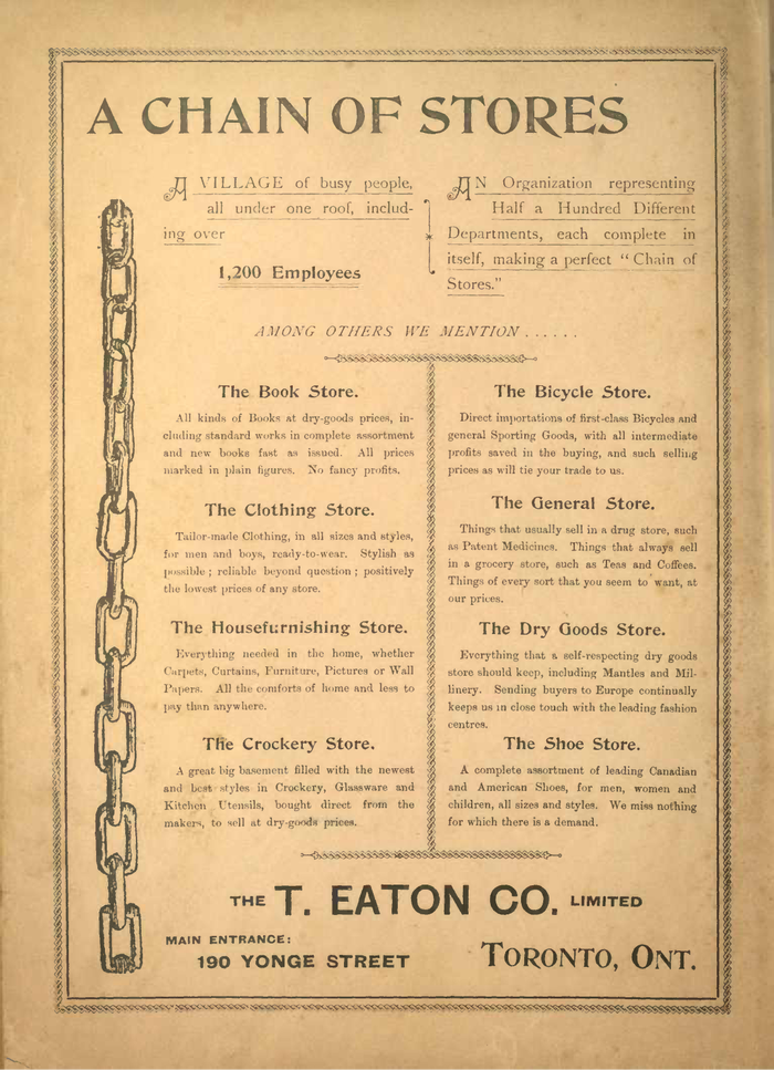 Eaton's Spring and Summer Catalogue No. 27 7