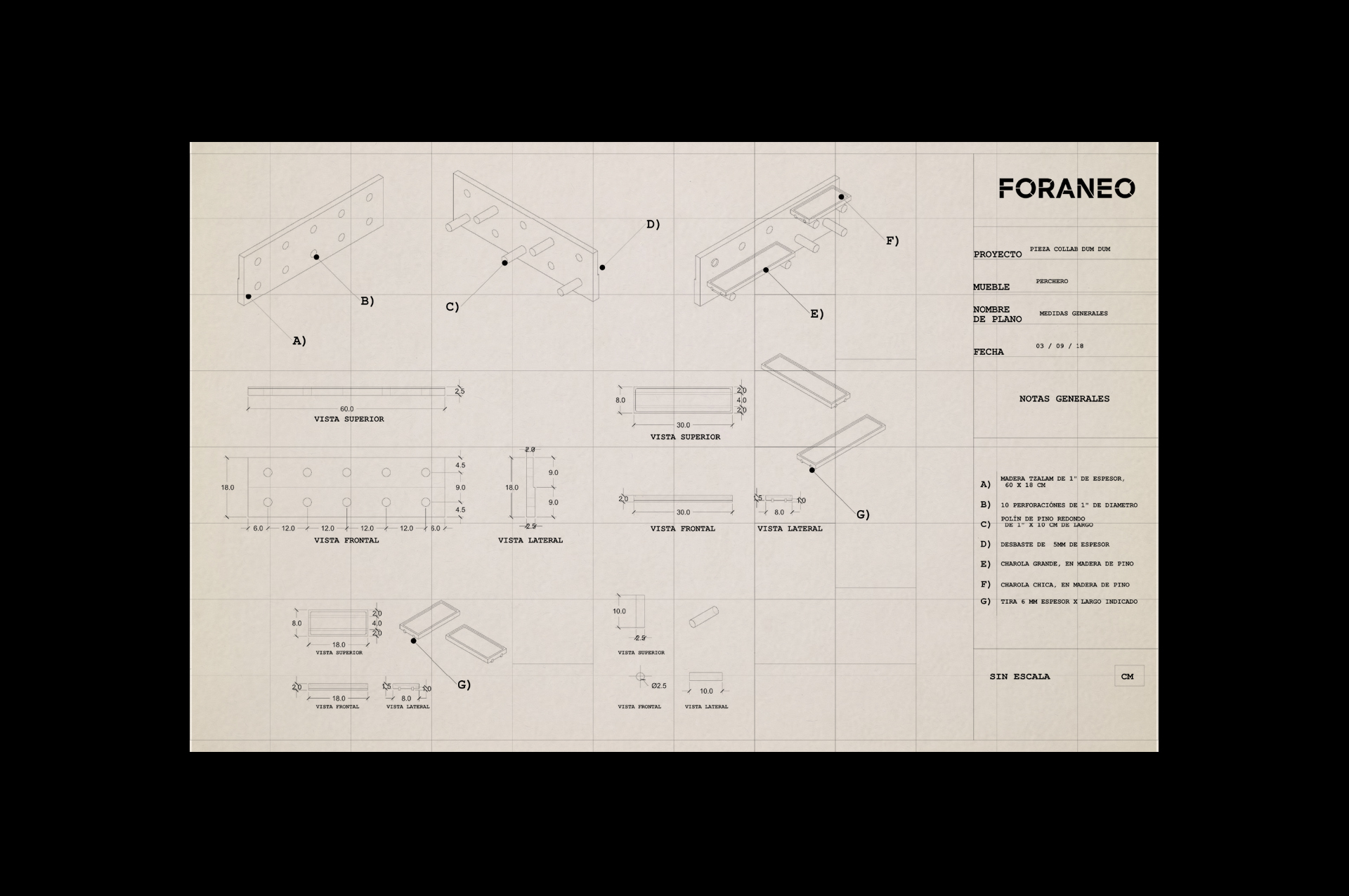 Foraneo - Fonts In Use
