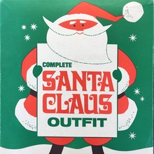 Complete Santa Claus Outfit packaging