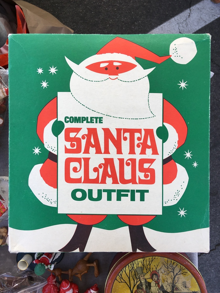 Complete Santa Claus Outfit packaging 1
