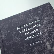 <cite>Verzeichnis einiger Verluste</cite> – Judith Schalansky (Suhrkamp)